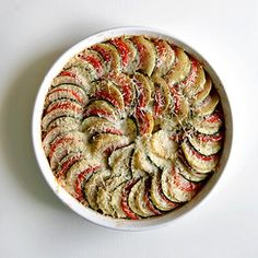 Vegetable Tian. Simple and delicious!