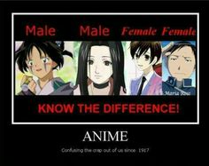 Haha My sister says This is not true! ITS ANIME PEOPLE