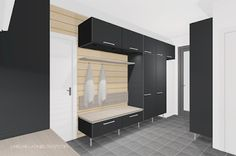UNELMILLA ON KIVIJALKA: Kodinhoitohuone Changing Room, Home Organization, House, Interior, Home, Bathroom Toilets, New Homes, Tall Cabinet Storage, Renovations