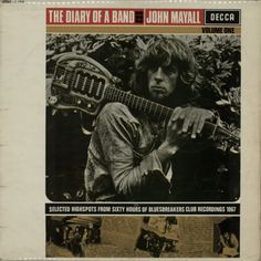 For Sale - John Mayall The Diary Of A Band Volume One - Mono - VG UK  vinyl LP album (LP record) - See this and 250,000 other rare & vintage vinyl records, singles, LPs & CDs at http://eil.com
