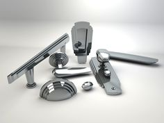 SA Baxter 4055 Cascade Suite - Suites - Hardware - Accessories - Dering Hall.  Please contact Avondale Design Studio for more information on any of the products we highlight on Pinterest.