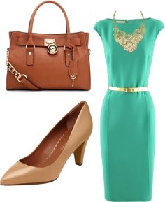 """Spring Work Wear"" by dykstrale-1 on Polyvore"