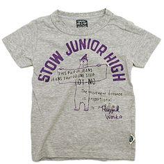 RUGGEDWORKS(ラゲッドワークス):マリンプリントTシャツ グレー(N4) の通販【ブランド子供服のミリバール】