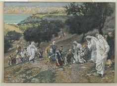 size: Giclee Print: Jesus Heals the Blind and Lame on the Mountain from 'The Life of Our Lord Jesus Christ' by James Jacques Joseph Tissot : Life Of Jesus Christ, Jesus Lives, Salvador, Jesus Heals, Biblical Art, Catholic Art, The Kingdom Of God, Bible Art, Bible Scriptures