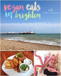 in Brighton: Vegan Eats in Travel Around Europe, Europe Travel Guide, Travel Guides, Veggie Recipes, Vegetarian Recipes, Travel Snacks, Food Travel, Brighton Uk, Travel Advise