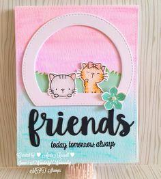 Friends #mftstamps