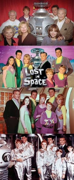 Cast of Lost In Space then and now
