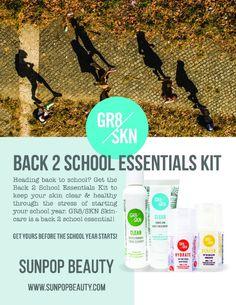 Sunpop Beauty Purposeful Newsletter: Issue #10!  Back to School specials!!
