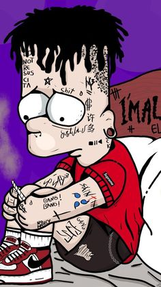 Best Of Cartoon Wallpaper Supreme Bart Simpson Photos Cartoon Wallpaper, Simpson Wallpaper Iphone, Trippy Wallpaper, Sad Wallpaper, Wallpaper Iphone Cute, Wallpaper Lockscreen, Wallpaper Awesome, Graffiti Wallpaper Iphone, Cartoon Cartoon