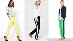 Женские брюки с лампасами: с чем носить в 2017 году? Фото