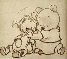 Pooh and Tiger #besties