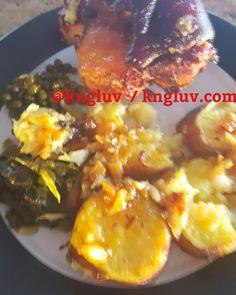 Eisbein peas spinach and sweet potatoe #eisbein