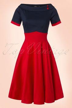 Vintage Retro 1950s Swing Dresses for Sale