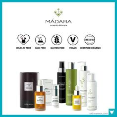 Madara Organic Skincare. Browse our ultimate list of 2017's best organic skin care lines! This top list features over 60 certified organic, vegan, gluten free, cruelty-free, and GMO free skincare brands from around the world!