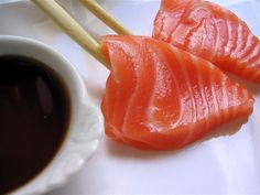 Sushinami has the best sushi in the alpharetta area. Order the salmon sashimi. Sushi Co, My Sushi, Sashimi Sushi, Sake Sushi, Sushi Recipes, Asian Recipes, Dessert Chef, Food Porn, My Favorite Food