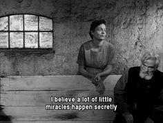 """Ordet (1955) """"Creo que muchos milagritos se producen secretamente"""": uno de tantos diálogos memorables en esta película"""