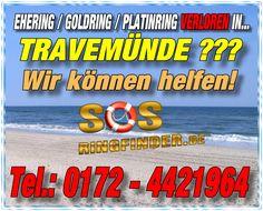 Ehering / Goldring / Platinring oder sonstigen Schmuck in Travemünde Ostsee verloren? Wir helfen Ihnen...Fragen Sie uns einfach danach unter Telefon: 0172 - 442 1964