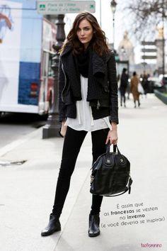É assim que as francesas realmente se vestem no inverno (e você deveria se inspirar)