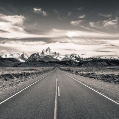 Photo by @michaelclarkphoto // The Fitzroy and Cerro Torre massifs as seen from the road going to El Chalten, Argentina. On a recent trip we circumnavigated the entire range on Patagonia Ice Cap. It was quite a tough hike and included 5,000 meters of elevation gain and loss and covered 93 kilometers. Undoubtably, this is one of the most amazing mountain ranges on the planet. #patagonia #elchalten #argentina #patagoniaicecap #patagoniaicefield #cerrotorre #fitzroy