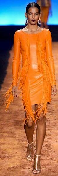 Patricia Viera Fall 2014 - Ready-to-Wear Jaune Orange, Coral Orange, Orange Color, Orange Zest, Yellow, Diva Fashion, Runway Fashion, Fashion Design, Cute Short Dresses