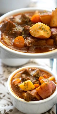 This Instant Pot Beef Stew was fast to make and turned out amazing! This Instant Pot Beef Stew was fast to make and turned out amazing! Slow Cooker Recipes, Crockpot Recipes, Soup Recipes, Cooking Recipes, Sausage Recipes, Stew Meat Recipes Quick, Quick Beef Stew, Beef And Potato Stew, Dessert Recipes
