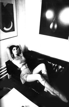 Photo by Jeanloup Sieff for Vogue Paris, 197. I'm bringing back the casual toe shoe starting now.