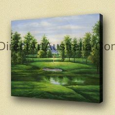 Golf Field, Art for home decoration - Direct Art Australia, Price: $149.00,  Availability: Delivery 10 - 14 days,  Shipping: Free Shipping,   Minimum Size: 50 x 60cm,  Maximum Size: 90 x 120cm,  Australian owned and operated. Local Contact.  We deliver Australia wide!  http://www.directartaustralia.com.au/