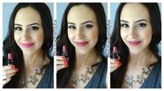NYX Matte Lipsticks - Lip Swatches L-R: Summer Breeze, Natural and Whipped Caviar