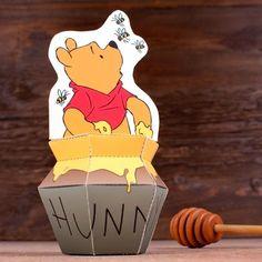 Free Printable Winnie The Pooh Paper Toy.