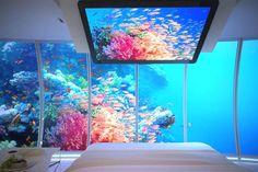 Dubai Underwater Hotel Interior