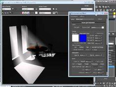 3d max tutorials : Setting light volume.mov