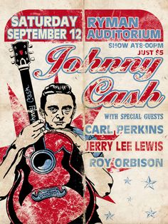 Johnny Cash @ The Ryman Auditorium