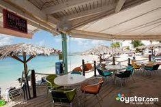 flamingo beach resort, st maarten images - Beach bar
