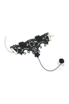Lace & Rose Bracelet & Ring Combo
