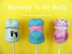 Gender Reveal Cake Pops | Gender reveal cakes pops are perfect for baby showers, as they hide ...