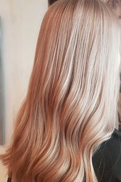 Pearlescent Hair