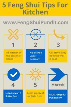Exceptionnel Hereu0027re 5 #simple #kitchen #FengShui Tips That Works For Everyone!