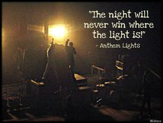 Anthem Lights <3  #BrealinWallace