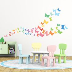 Sweet Butterflies Wall Stickers