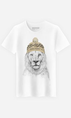 T-Shirt Homme Winter Is Coming by Solti Balazs | Art Shop | Wooop.fr