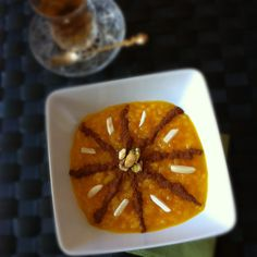 Shole Zard (Persian Saffron Rice Pudding)