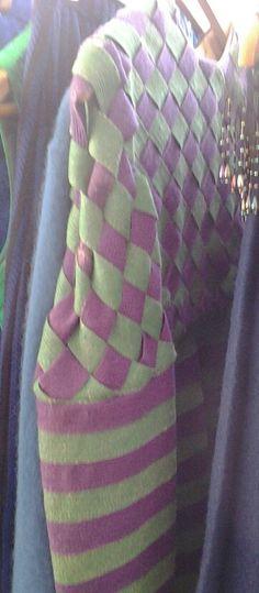 #couture weaving at #eravintagewear