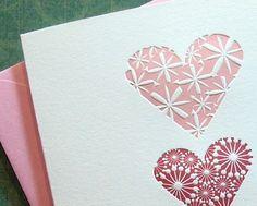 My Heart Letterpress Greetings