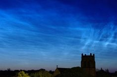Noctilucent clouds over #newcastle #yourweather