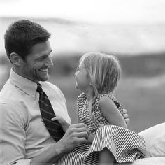 Photo of a dad and his daughter (Tumblr) want one of my husband and daughter