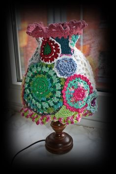 what do to with crochet flowers