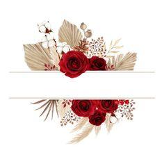 Red Rose Petals, Red Rose Flower, Red Flowers, Red Roses, Flower Background Wallpaper, Flower Backgrounds, Flower Phone Wallpaper, Flower Frame, Rose Frame