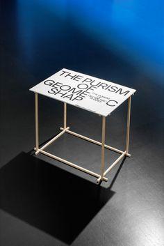 gdbot: exhibitiondesignclub: Actual typefacePhoto:ECAL… http://ift.tt/2jZ17yf