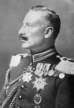 WILLIAM  II OF GERMANY German Emperor King of Prussia Monarchy abolished 1918 after WW1