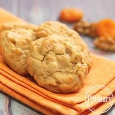 You can't go wrong with a name like Apricot Angel Cookies! Make these tasty cookies with Crisco® Butter Flavor All-Vegetable Shortening, Crisco® Baking Sticks Butter Flavor All-Vegetable Shortening, sugar, firmly packed brown sugar, eggs, vanilla extract, Pillsbury BEST™ All Purpose Flour, baking soda, salt, chopped dried apricots, and walnuts (optional).